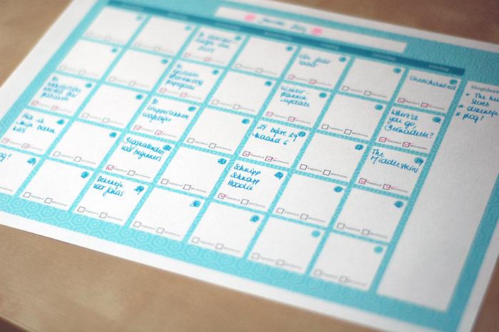 Blogkalender