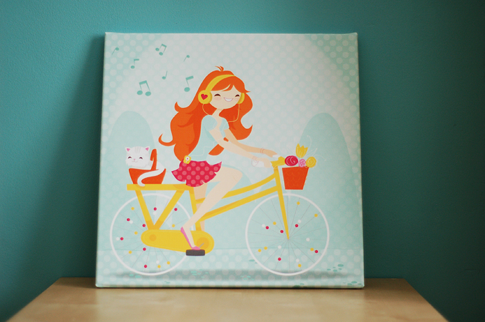 Wanddecoratie canvas Webprint
