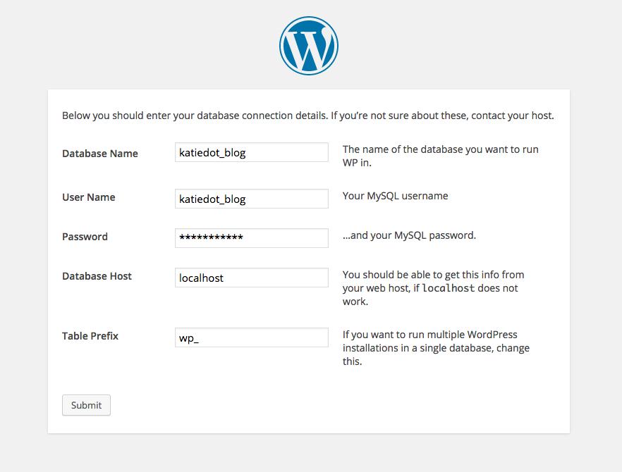 WordPress Manueel Installeren