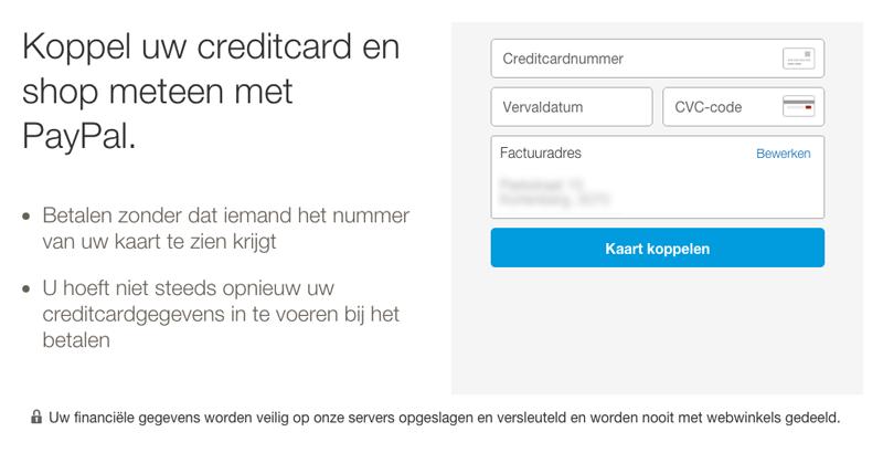 PayPal - account aanmaken