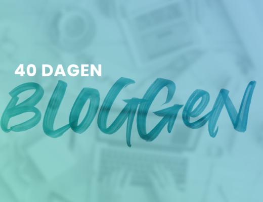 40 Dagen Bloggen